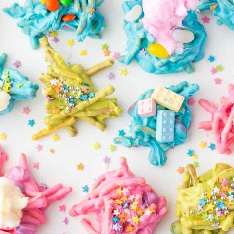Candy Haystacks