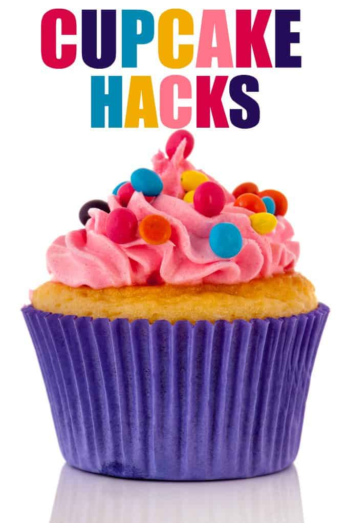 Cupcake Hacks to Blow the Buttercream Right Off You - Tips and tricks to jazz up your cupcakes and take them to a whole other level!