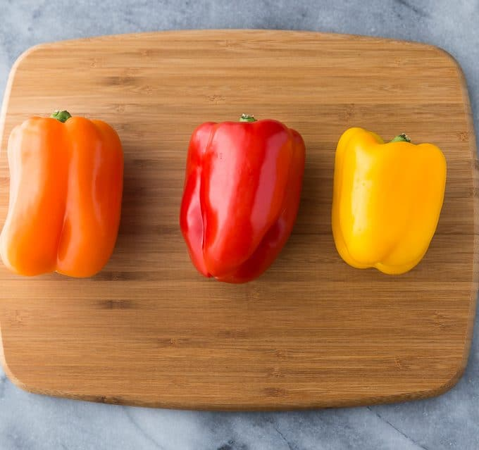 The Easiest Way to Cut a Bell Pepper - Once you learn this chopping hack, you'll never go back!