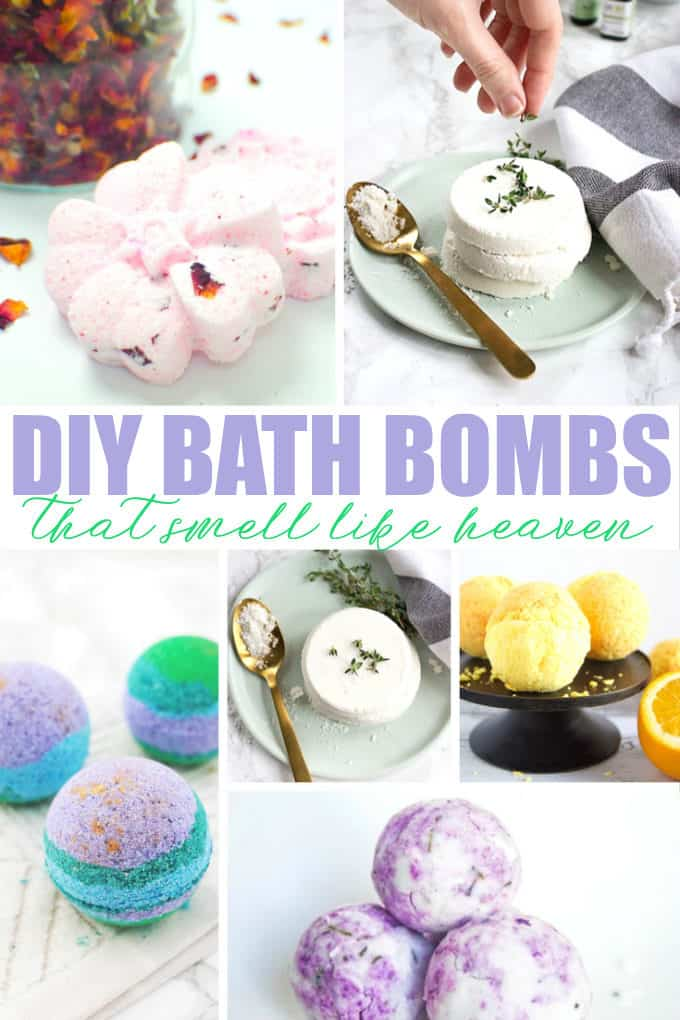 DIY Bath Bombs That Smell Like Heaven - Elevate your relaxation experience with a beautiful homemade bath bomb. They make a lovely DIY gift too!