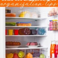 8 Brilliant Refrigerator Organization Tips