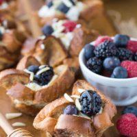 Honey Almond Breakfast Cups