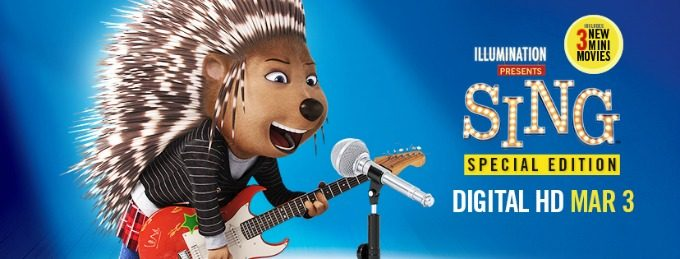 SING is Now Available on Digital HD! #SingMovie #SingSquad