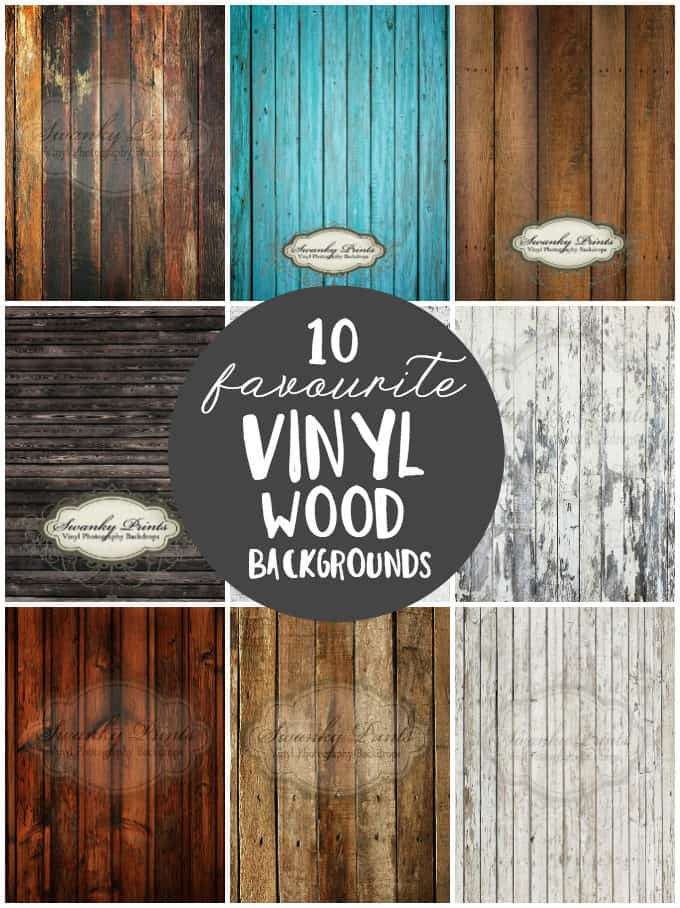 10 Favourite Vinyl Wood Backgrounds - Vinyl wood backgrounds are easy to clean and work with a variety of food photography settings. Check out our list of favourites from Swanky Prints!
