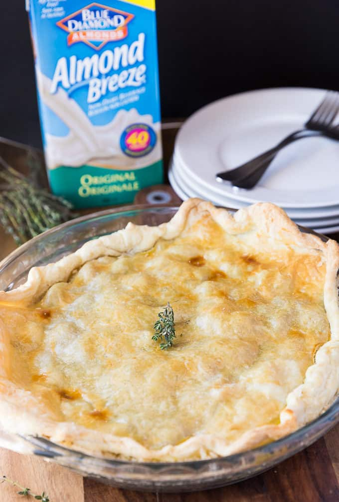 Rustic Bacon, Herb & Vegetable Pie - Enjoy this savoury pie with its blend of fresh vegetables, fresh herbs and bacon all tucked into a creamy sauce.