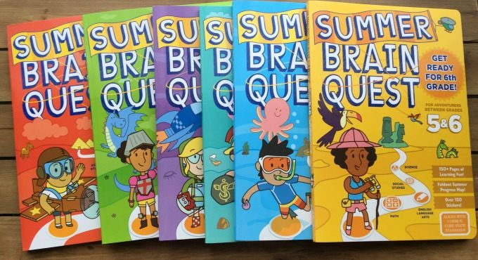 Summer Brain Quest: Between Grades 4 and 5, Workman Publishing, Heos, Bridget, Pid