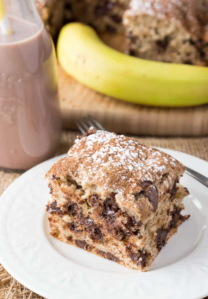 Banana Chocolate Cake - Rich, luscious and fully of yummy chocolate flavour. You won't be able to stop at just one piece.