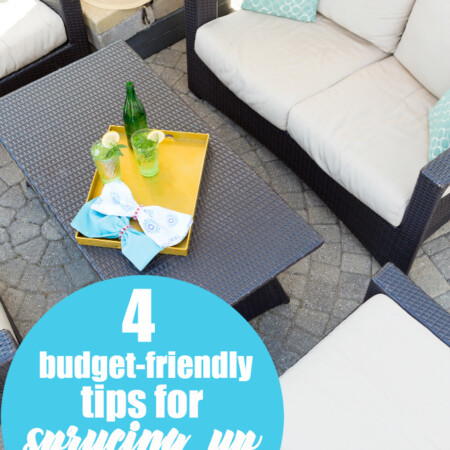 4 Budget-Friendly Tips for Sprucing Up Your Backyard