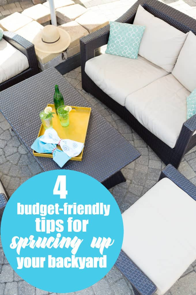 4 Budget-Friendly Tips for Sprucing Up Your Backyard - With a few simple, budget-friendly tips and tricks, you'll have your backyard looking fabulous in no time at all.