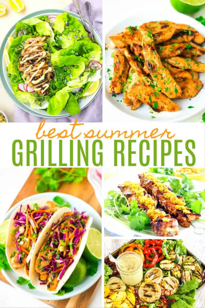 20 Best Summer Grilling Recipes - Get your grill on with these delicious selection of recipes. Your family is going to love them!