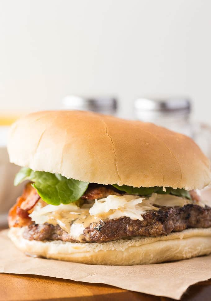 Ultimate Maritime Burger - Juicy and full of flavour with an Atlantic Canada twist!
