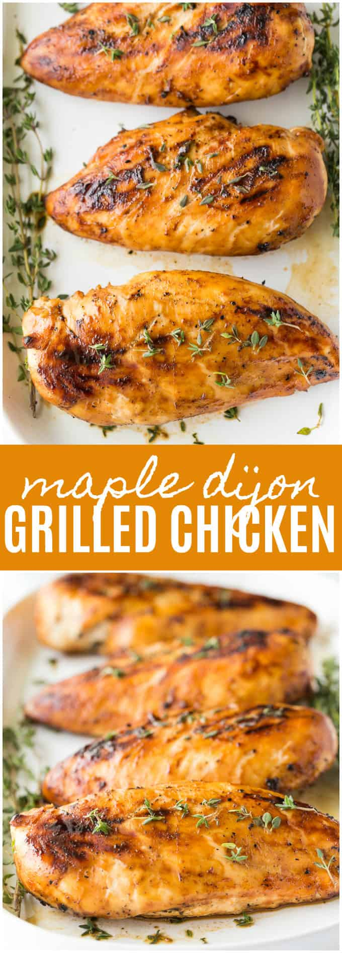 Maple Dijon Grilled Chicken - Simply Stacie