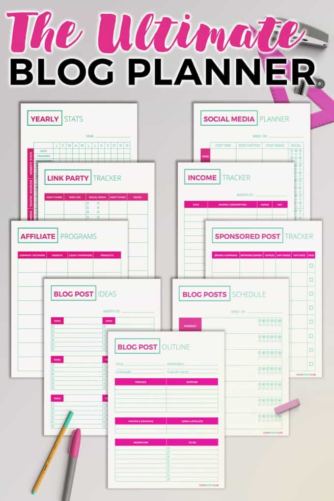 Free Blogging Printables - Simply Stacie