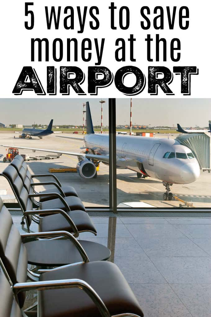 5 Ways to Save Money at the Airport - Simple tips for you to save your money for your actual vacation.