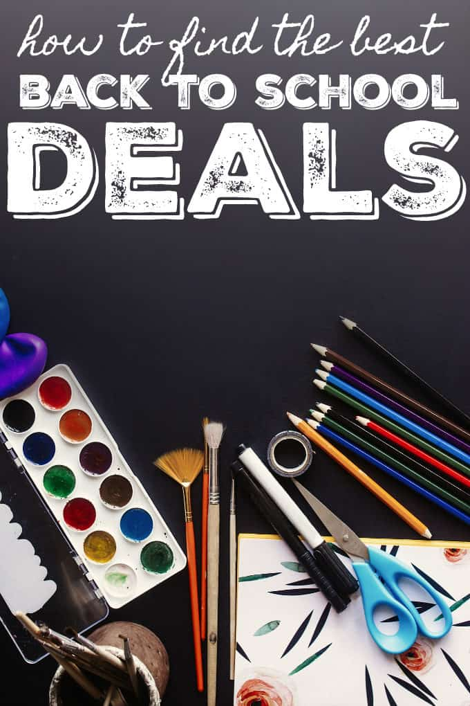 How to Find the BEST Back to School Deals - Find the best prices and avoid rushing from store to store!