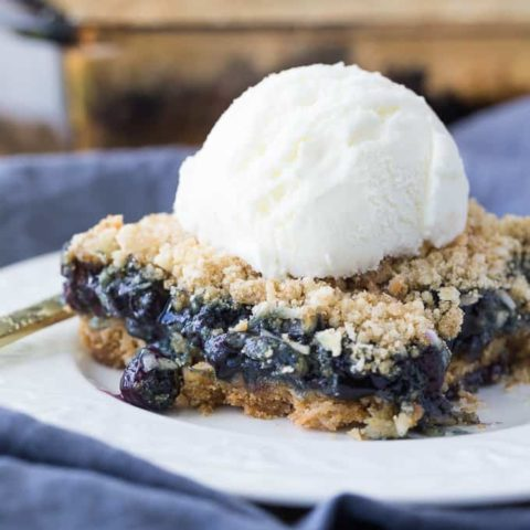 Blueberry Crackle Cake