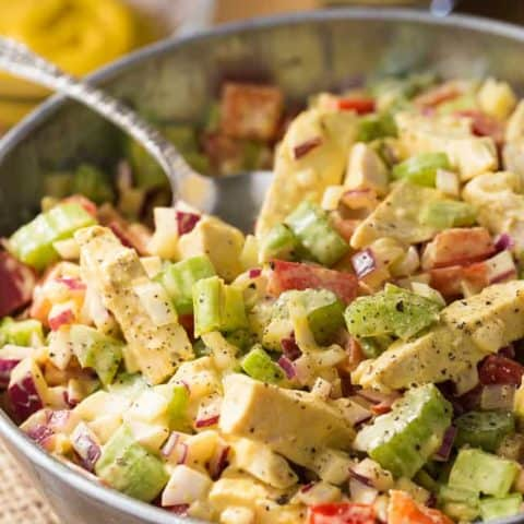 Mustard Chicken Salad