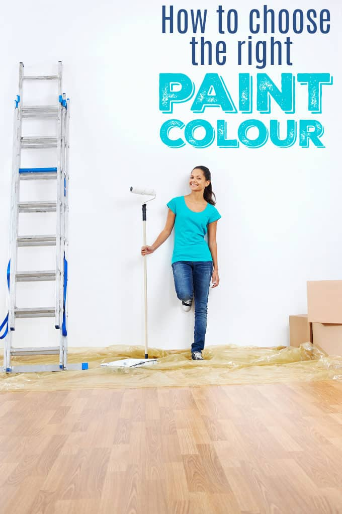 How to Choose the Right Paint Colour - Follow some basic rules when choosing paint colours, so that your space looks coordinated and balanced.