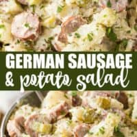 German Sausage & Potato Salad