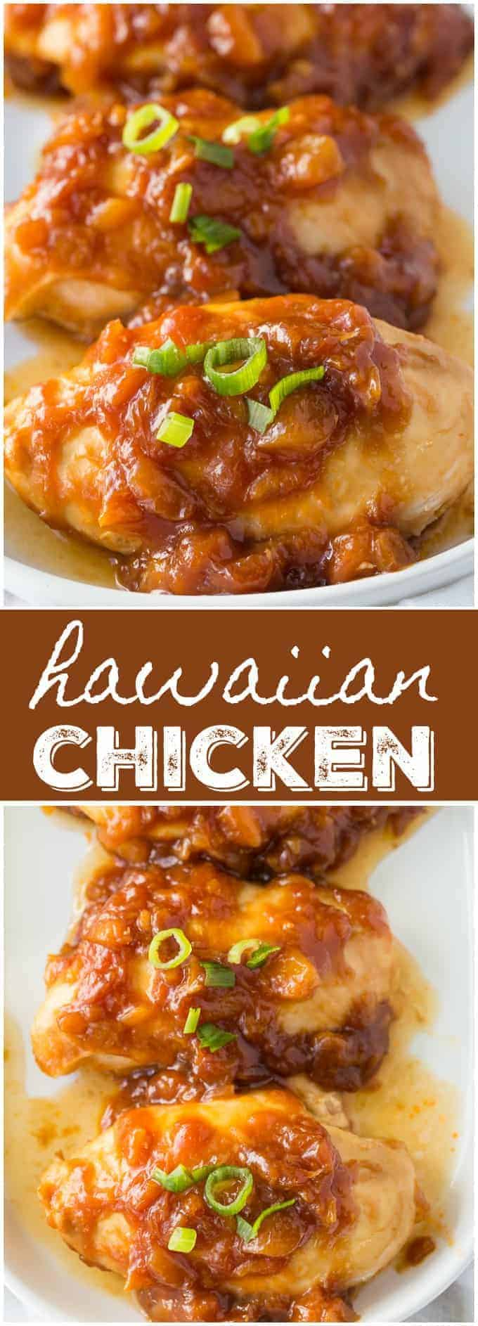 Hawaiian Chicken - Add a little tropical flavour to your weekday dinner! This dish is easy and delicious.