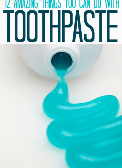 12 Amazing Things You Can Do With Toothpaste
