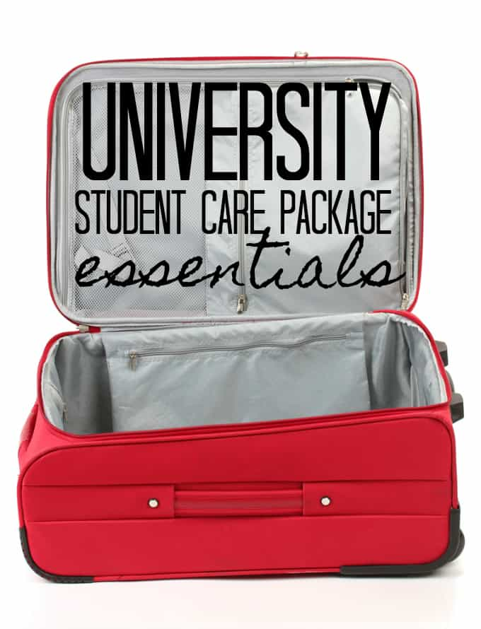 University Student Care Package Essentials - Equip your son or daughter with the tools they'll need to succeed.