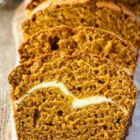 Pumpkin Ribbon Bread