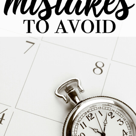 Time Management Mistakes to Avoid