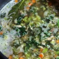 Very Veggie Chicken and Rice Soup