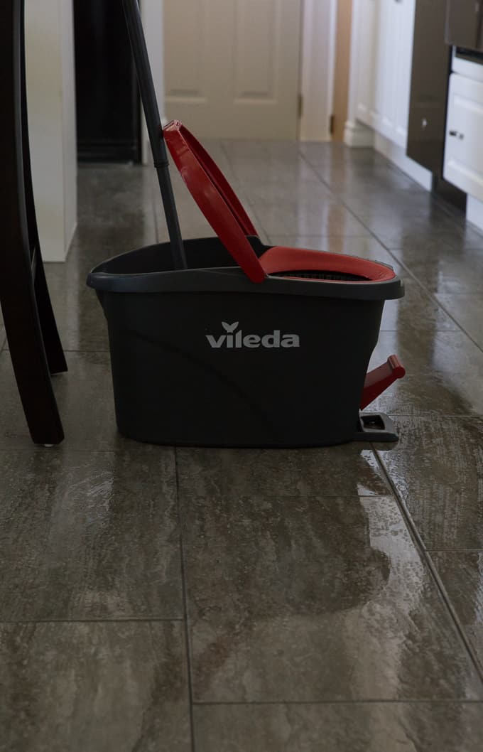 The Easiest Way to Clean Your Floors - My solution for spotless floors! The process could not be any simpler.