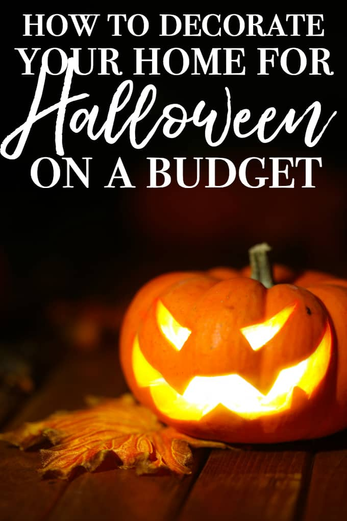 How to Decorate Your Home for Halloween on a Budget - It doesn't have to look sophisticated or classy: it just has to look spooky!