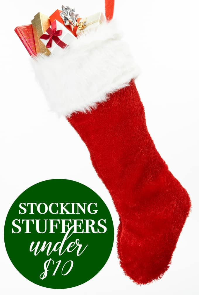 Stocking Stuffers for Under $10 - Get something for EVERYONE in the family, including your pets!