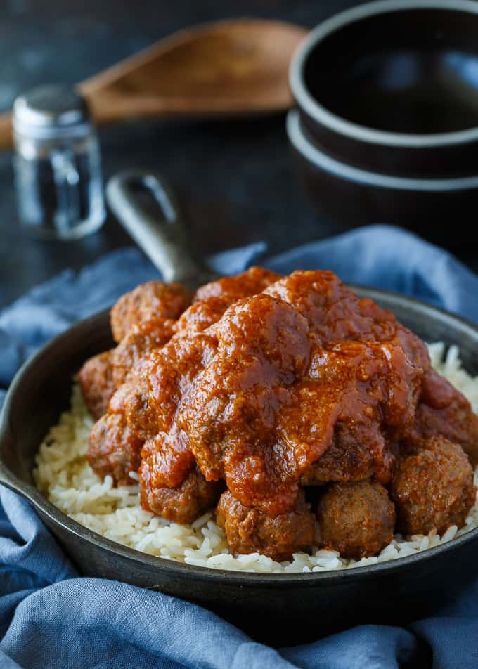 Tangy Sweet & Sour Meatballs - A freezer-friendly meatball recipe that your family will love.