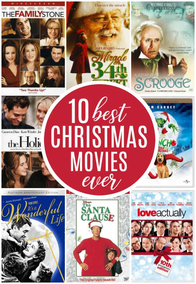 10 Best Christmas Movies EVER - The definitive list of Christmas movies that are sure to add a little jingle in your bells this season!