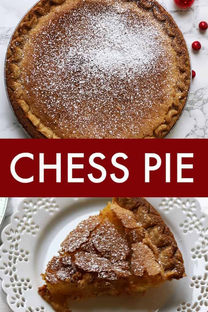 Chess Pie - Rich, sweet and timeless. Everyone is guaranteed to love this Southern classic pie!