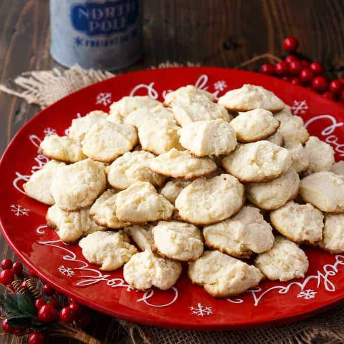 Cream Cheese Cookies - If you love shortbread cookies, you need to try this recipe. Each bite will melt in your mouth.