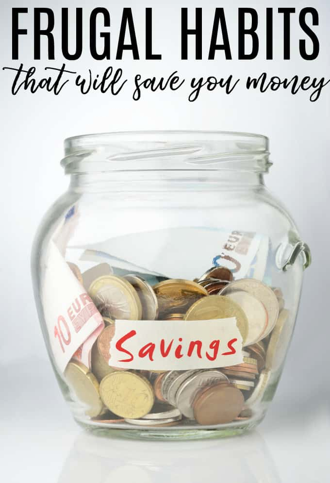 4 Frugal Habits That Will Save You Money - Saving money is a long term strategy: getting into the right habits will help you along the way.