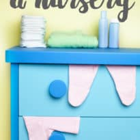 How to Organize a Nursery