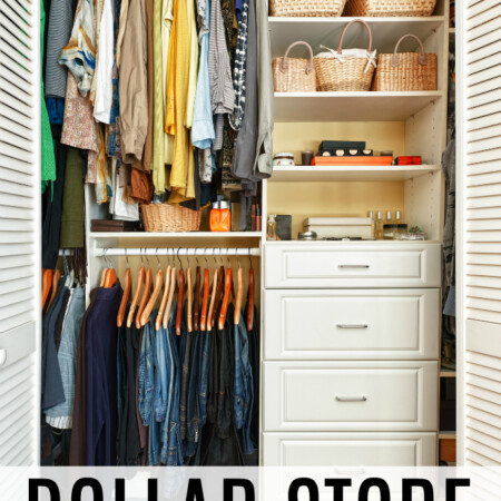 Dollar Store Organizing Hacks