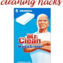 6 Magic Eraser Cleaning Hacks