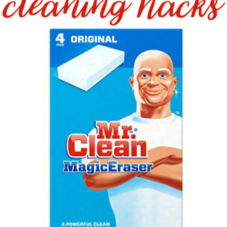 6 Magic Eraser Cleaning Hacks