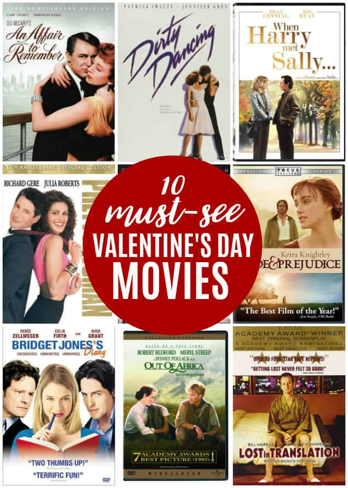 10 Must-See Valentine's Day Movies - Whether you're in love or recovering from a lost love, a good V-day movie can make your day a little bit sweeter, with or without the chocolate.