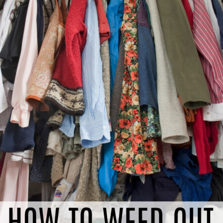 How to Weed Out Your Closet
