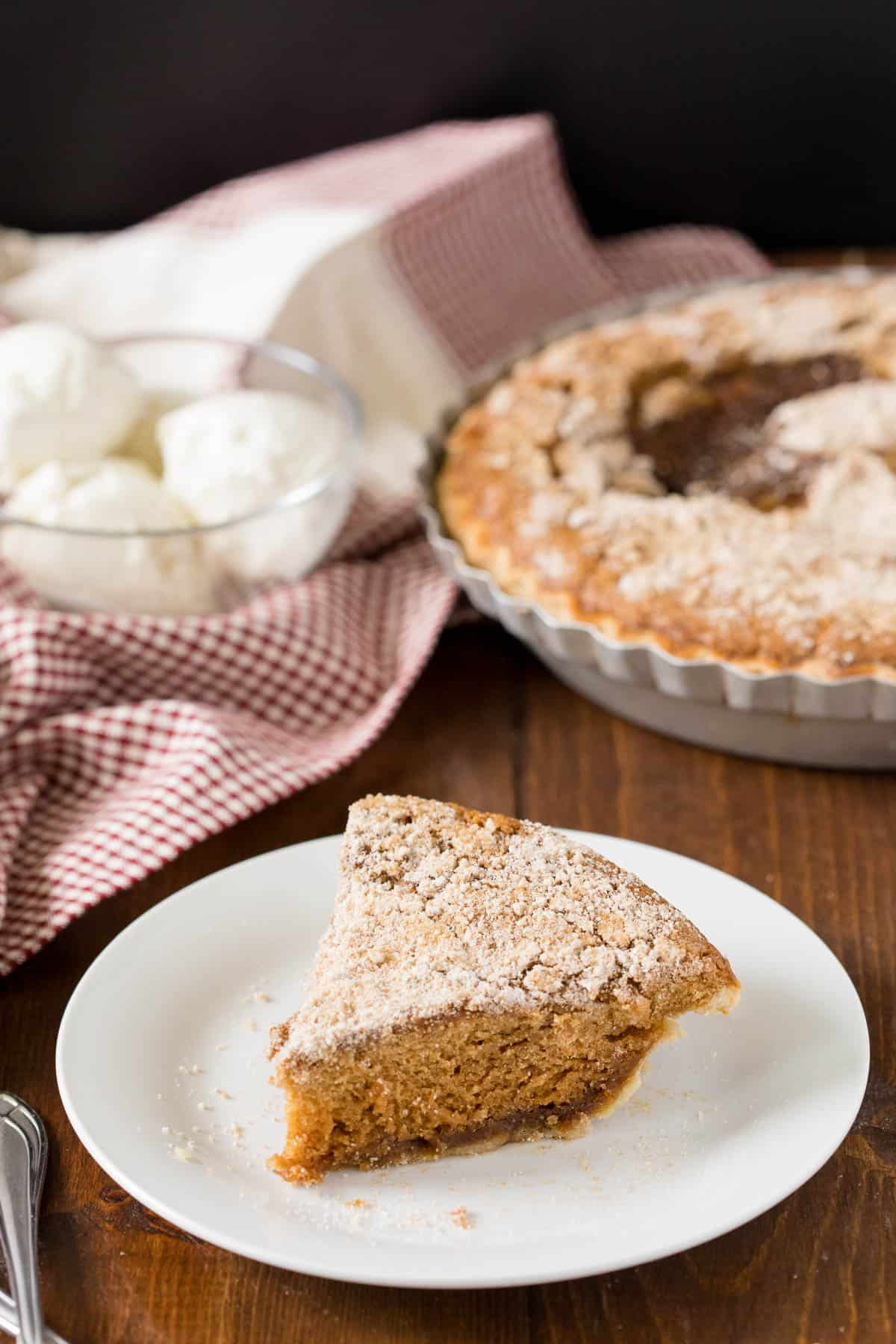 Shoofly Pie - A popular Pennsylvania Dutch pie recipe from the 1800s.Great with coffee or a scoop of ice cream! A vintage dessert perfect for parties.