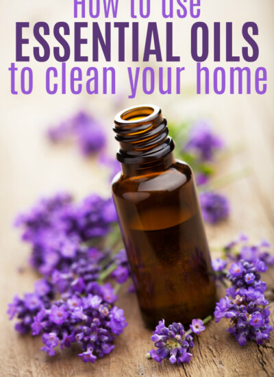 How to Use Essential Oils to Clean Your Home