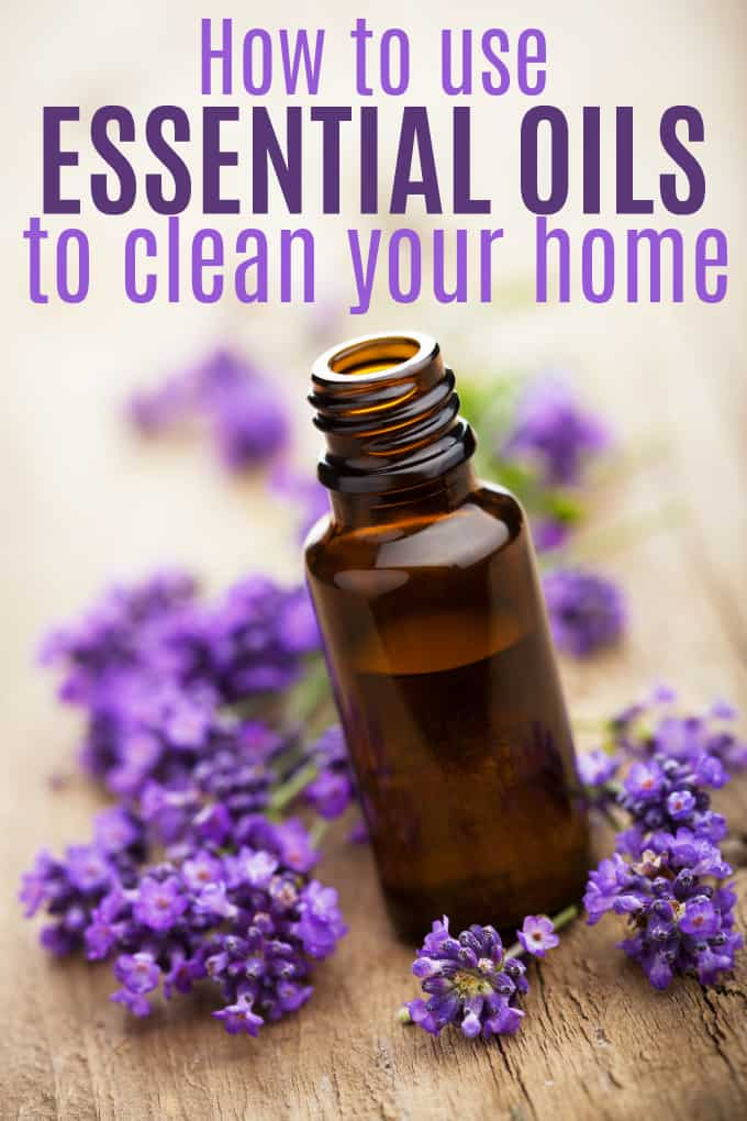 How to Use Essential Oils to Clean Your Home - They're perfect for keeping your home fresh and healthy for your whole family.