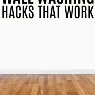 Wall Washing Hacks That Work
