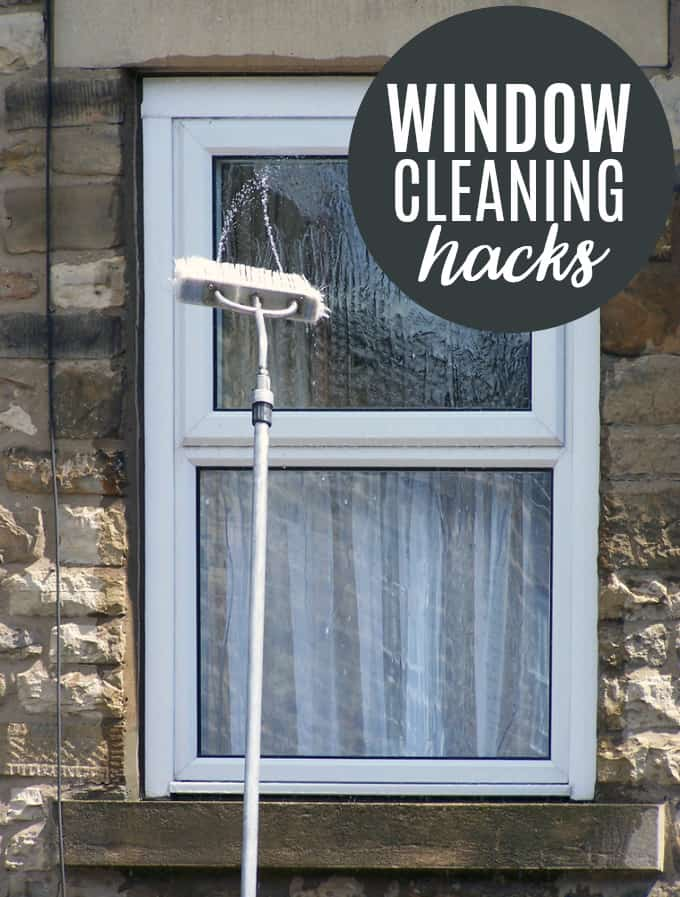 Window Cleaning Hacks For a Streak Free Shine - Keeping all the windows in the house clean is a BIG job, but it's so valuable to making a house a home.