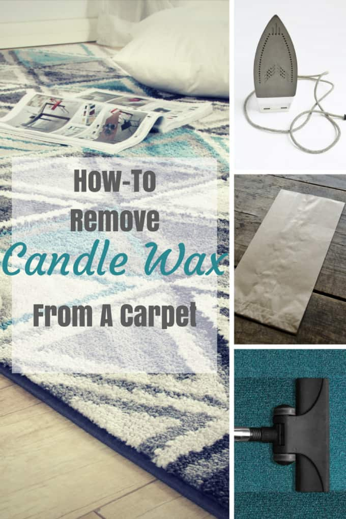 How to Remove Candle Wax from a Carpet - Simple, easy-to-follow instructions to get your carpet looking like new again!