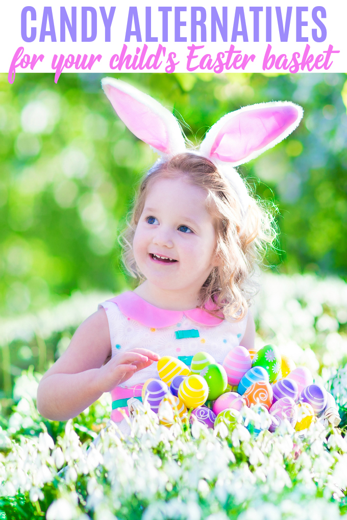 Candy Alternatives for Your Child's Easter Basket - It is possible to fill an easter basket or host an egg hunt that involves less chocolate and more fun!